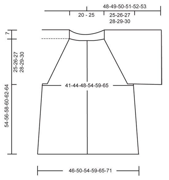 "DROPS 122-31 - DROPS jacket with raglan in ""Alaska"". Size S to XXXL. - Free pattern by DROPS Design"