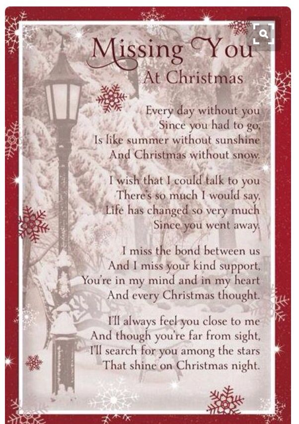 Wish You Merry Christmas Mom And Dad Heaven