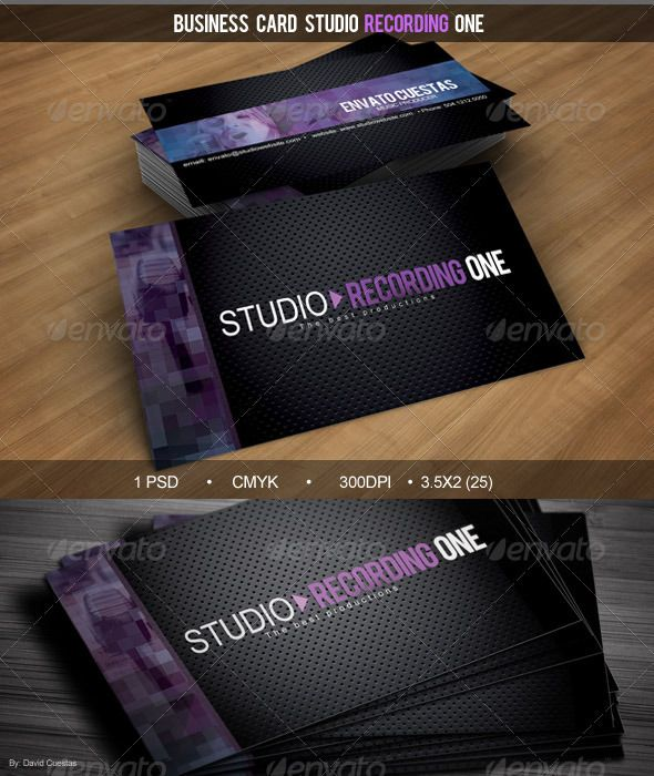 Business card studio recording one corporate business cards business card studio recording one corporate business cards download here colourmoves