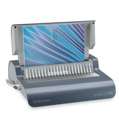 Fellowes Quasar E 500 Comb Binding Machine (52169