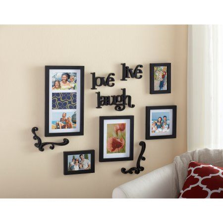 Mainstays 10 Piece Expressions Wall Frame Set Moderndecor Wall Frame Set Frames On Wall Frame Set