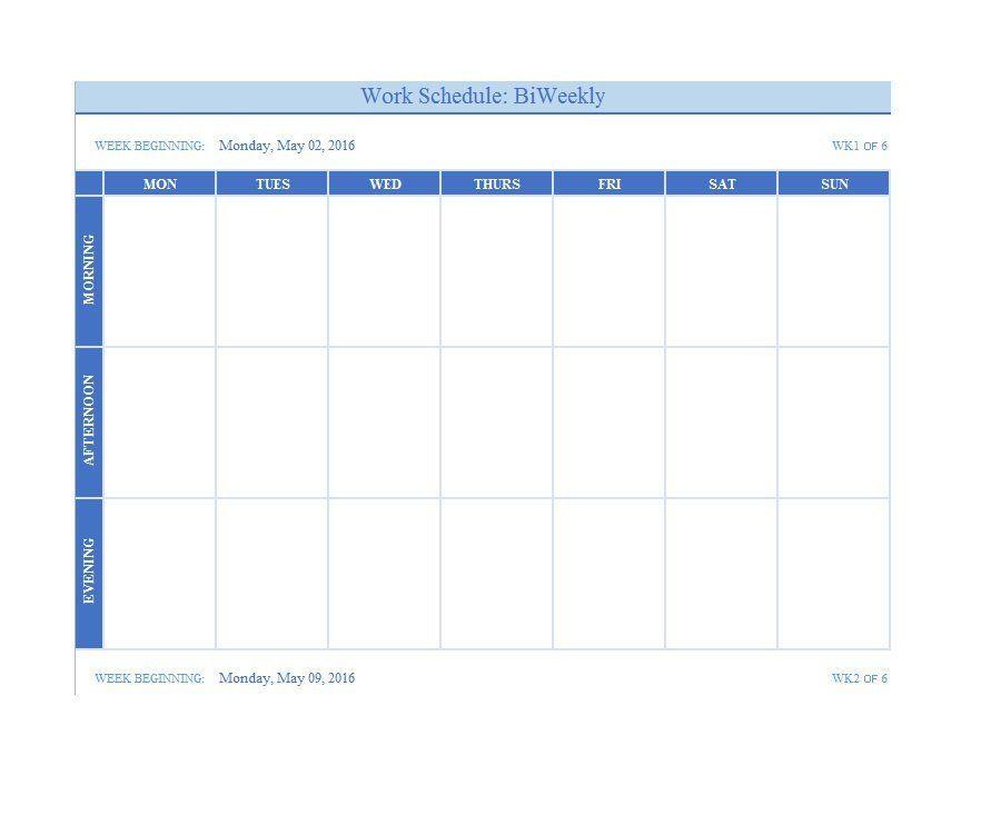 10+ Weekly Calendar Templates Free Printable Word  PDF Formats