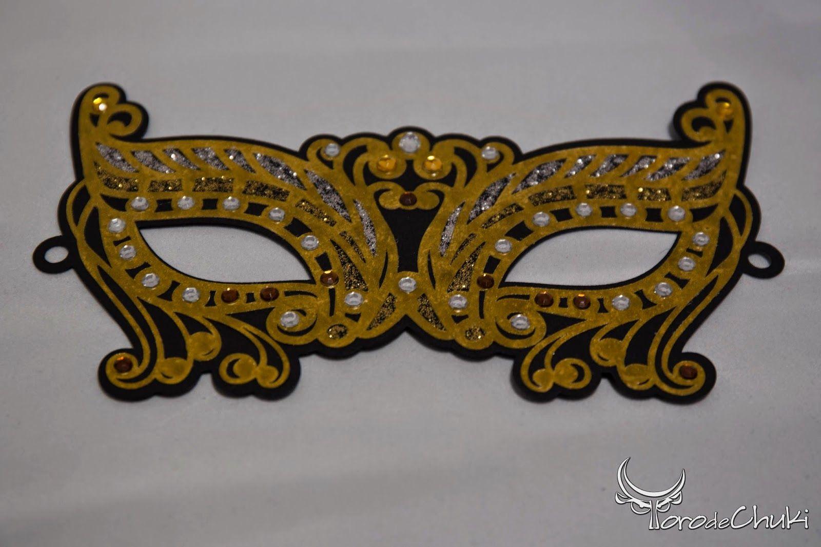 Awesome SVGs Blinged Up Masquerade Mask. Masquerade