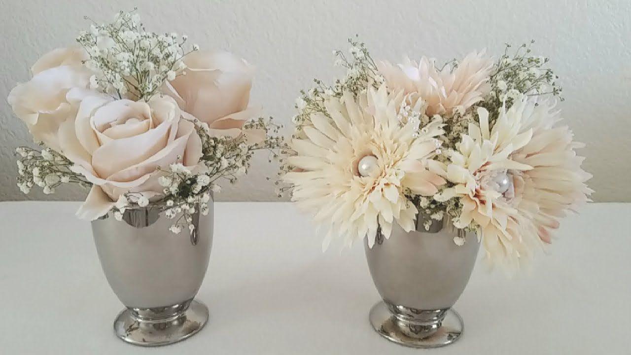 Diy elegant wedding decorations  ELEGANT WEDDING ARRANGEMENT DECOR DIY  wedding  Pinterest