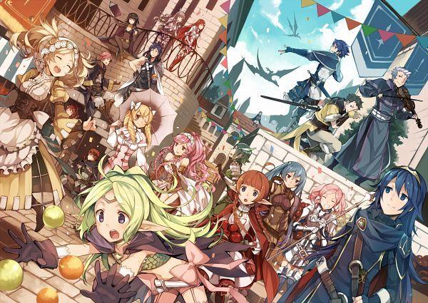 Fire Emblem Karusei Fan Art Anna Fire Emblem Fire Emblem Awakening 3ds Fire Emblem Heroes