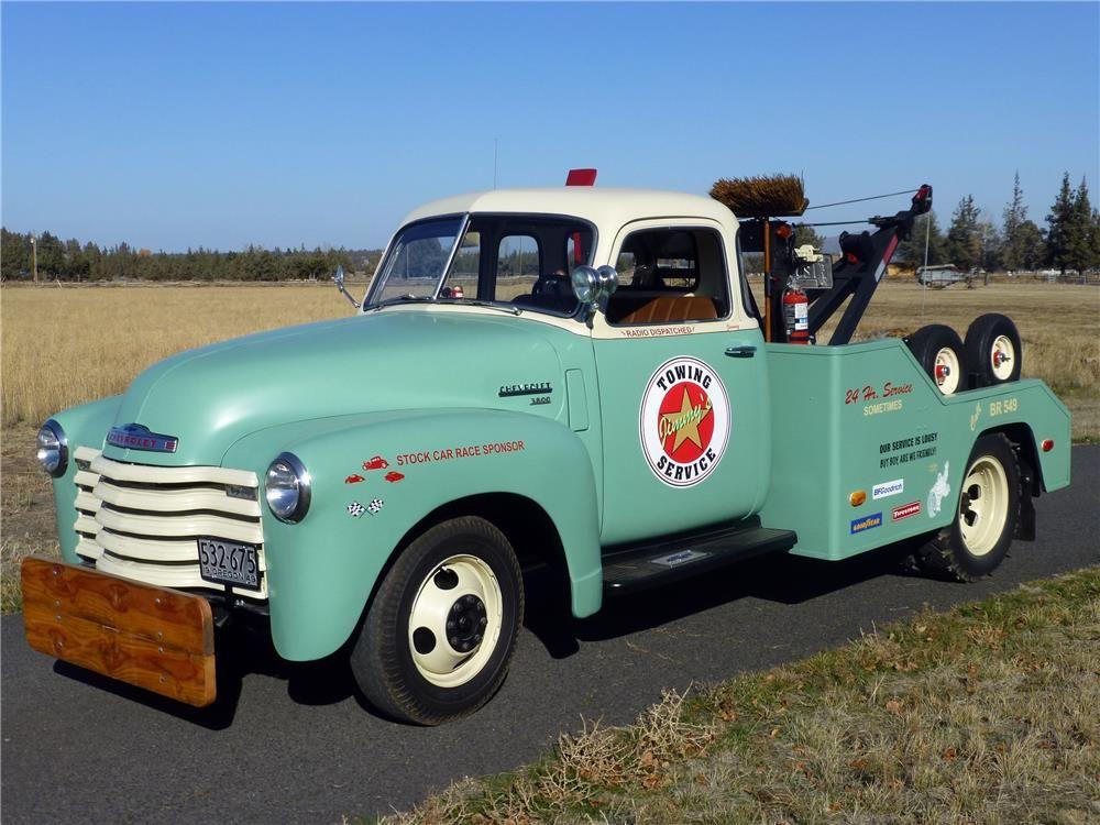 1949 Chevrolet 3800 Tow Truck Barrett Jackson Auction Company