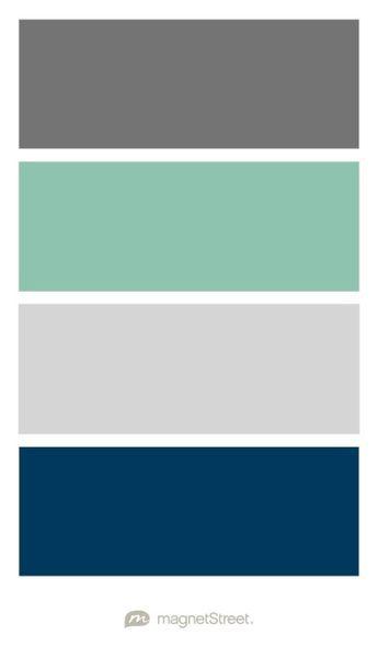 Dark Grey Seafoam Green Light Grey And Navy Color
