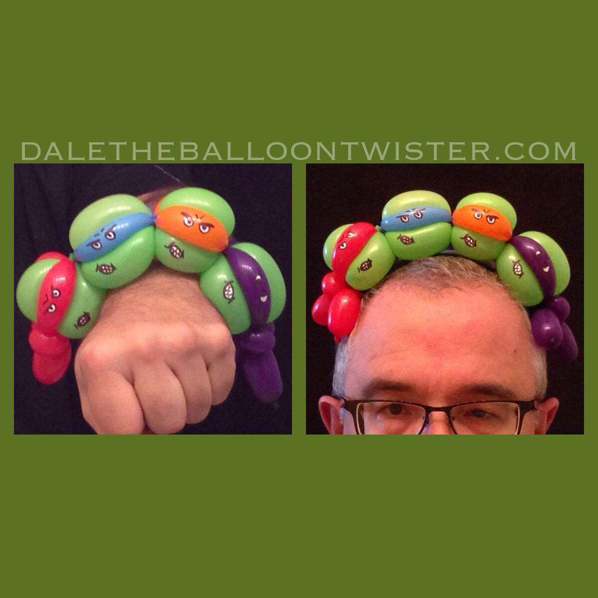 Teenage Mutant Ninja Turtle Bracelet & Headband Design