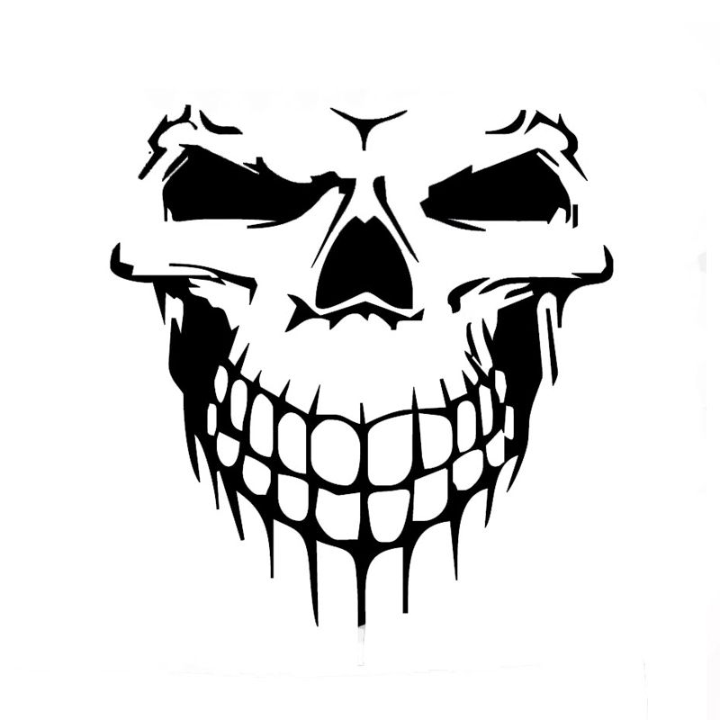 Wholesale Pcslot Pcslot Skull Hood Decal Vinyl Large Graphic - Auto graphic stickersdiscount auto graphic decalsauto graphic decals on sale at