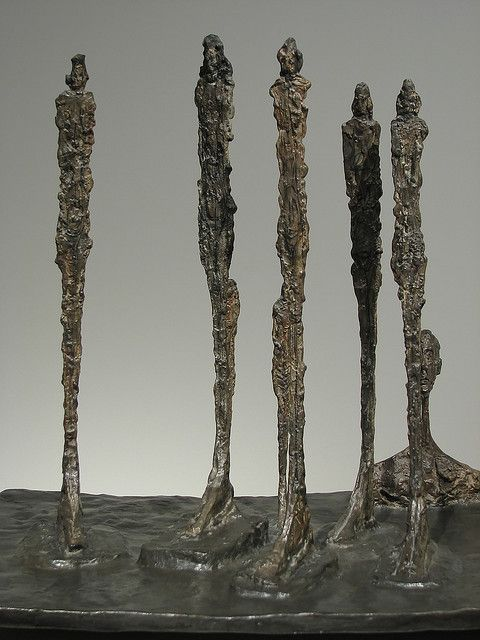 The Forest Alberto Giacometti 1950 Alberto Giacometti Figurative Sculpture Art
