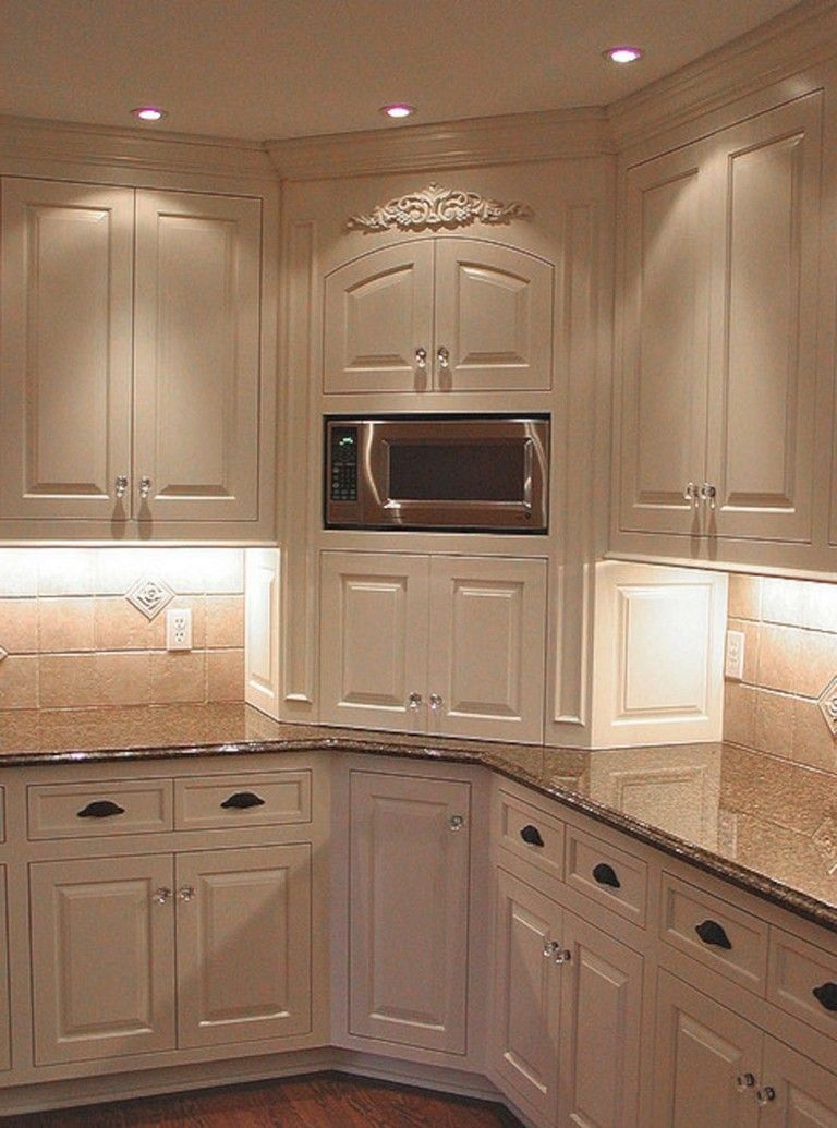 69 Top Built In Microwave Cabinet Inspirations For