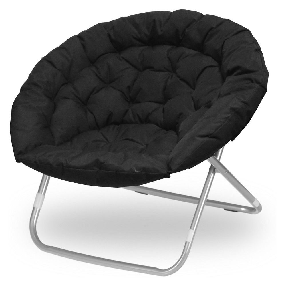 Oversized Moon Chair Black Project 101 Moon Chair Saucer