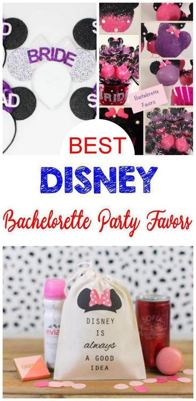 Disney Bachelorette Party Favor Ideas