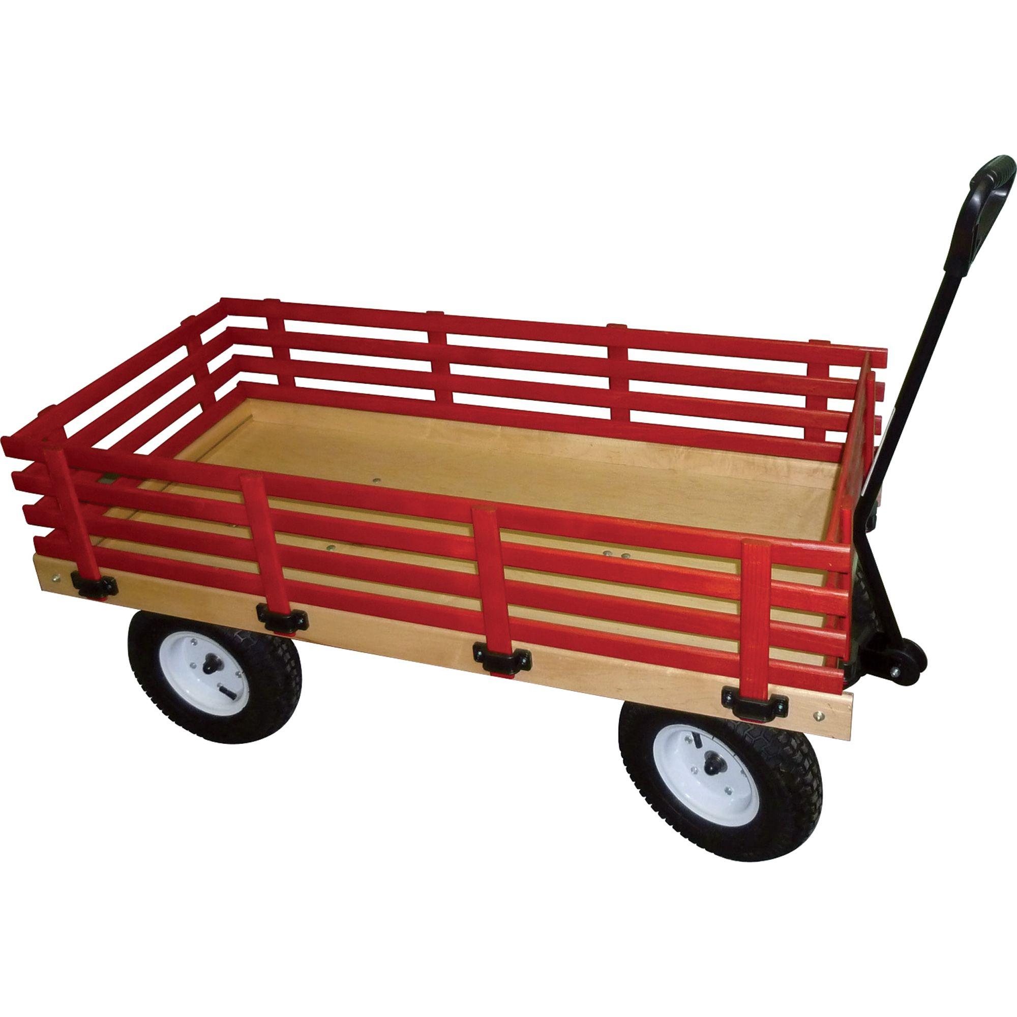 Millside Industries Garden Wagon 600lb. Capacity, 48in.L
