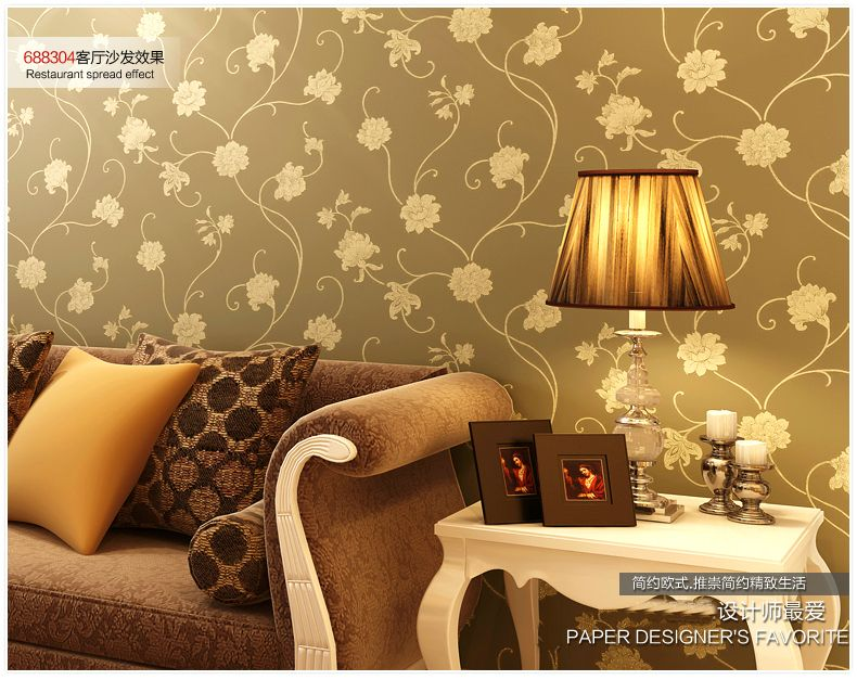 (Buy here: http://appdeal.ru/15hy ) Modern new non-woven wallpaper/beautiful wallpaper/designer household wallpaper/wall paper collection home decoration wallpaper for just US $34.89