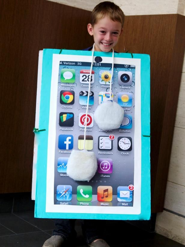How to make a smartphone halloween costume fun costumes homemade homemade costumes are much sweeter than most store bought ones here is a fun solutioingenieria