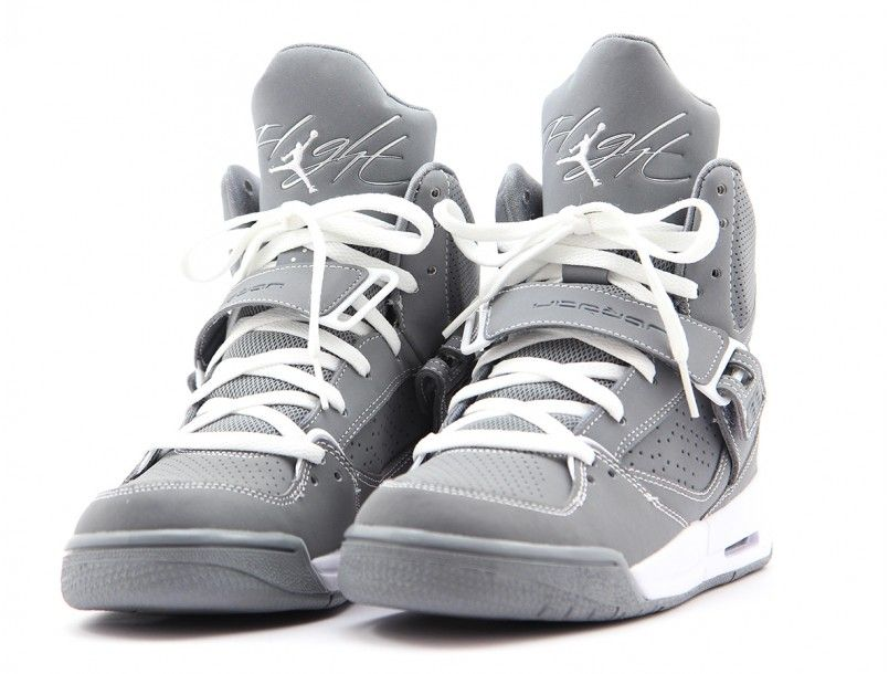 Air jordan Flight 45 Cool Grey 4  a54a88f03