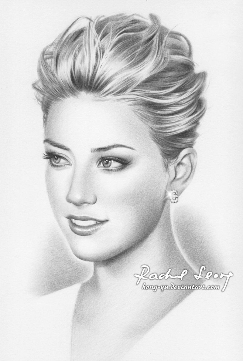 Amber heard 2 by hong yu deviantart com on deviantart