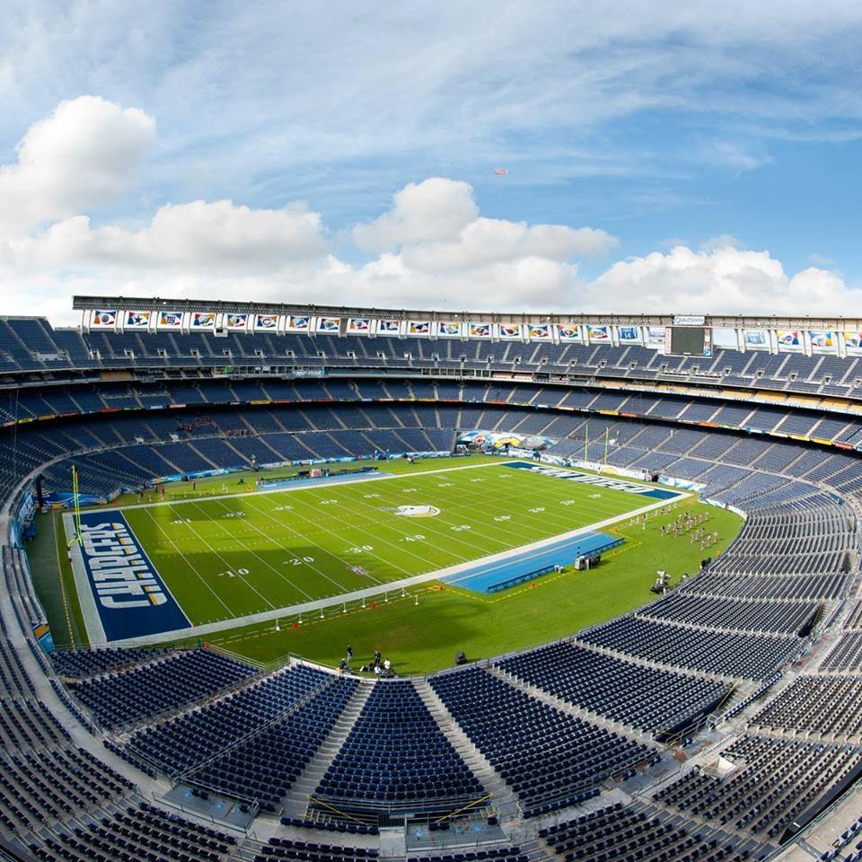 Qualcomm Stadium Home Of The San Diego Chargers San Diego Chargers Nfl Stadiums Qualcomm Stadium