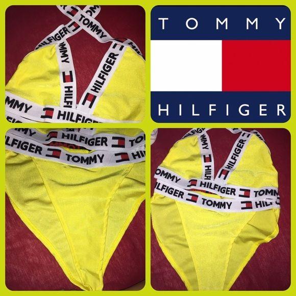 high waisted tommy hilfiger bikini