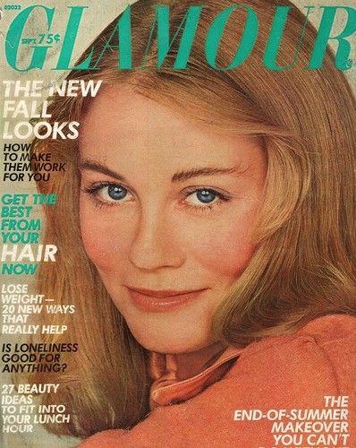 September 1974 cover with Cybill Shepherd