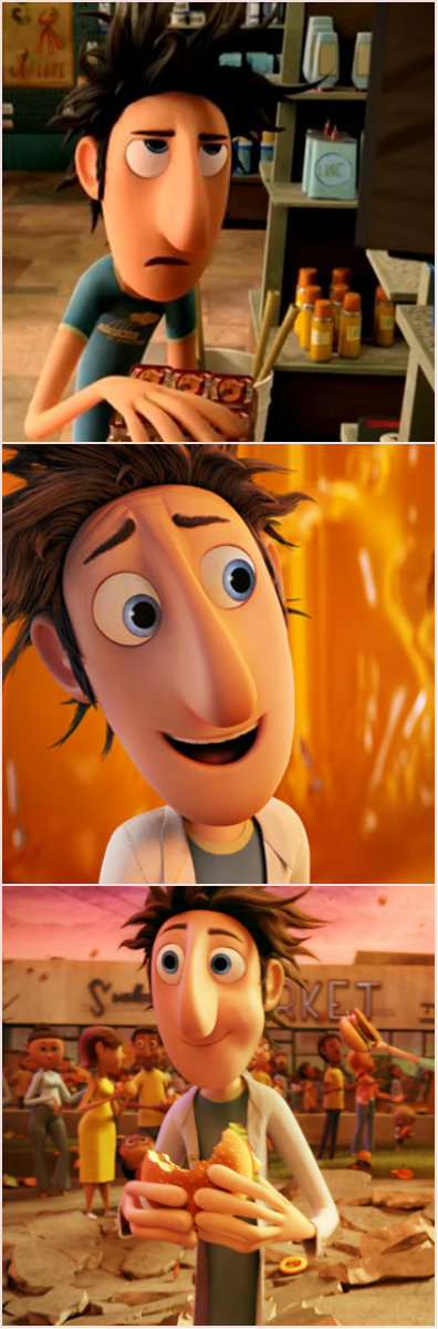 Cloudy With A Chance Of Meatballs 2009 Flint Lockwood Animated Movies Flint Lockwood Disney And Dreamworks