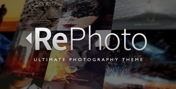 Rephoto Photography Muse Template Website Templates Pinterest