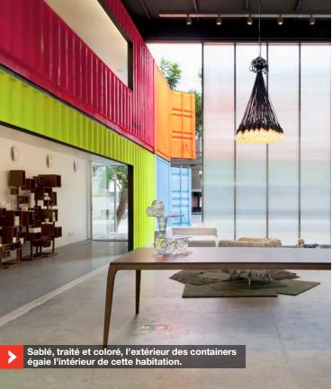 FacebookTwitterGoogle+Pinterest Votre chambre à coucher installée dans un container maritime, aprèsqu'il ait sillonné les mers pendant 10 ans, un pari improbable?Pas tant que ça! Recyclage, coût, solidité, possibilitésd'assemblages… Les attraits de la maison container pourraient biendéclencher un raz-de-marée dans l'univers ... Lire l'article