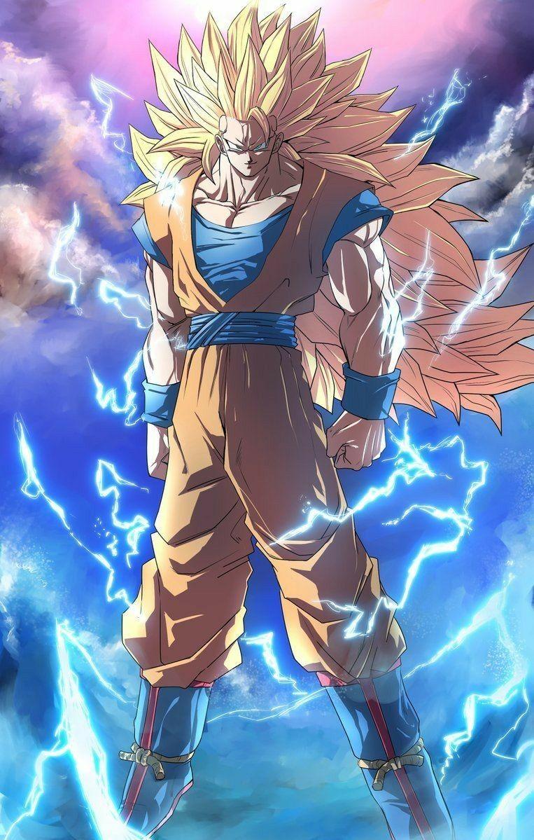 Ssj 3 Goku Dragon Ball Goku Anime Dragon Ball Super Dragon Ball Super Goku