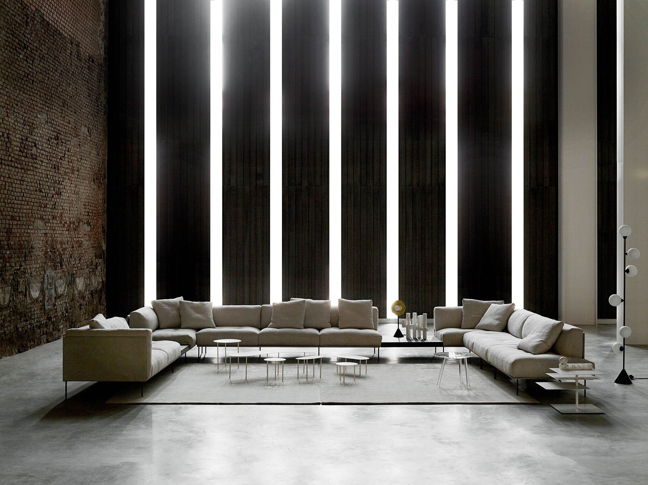 Living Divani The Wall Sofa Rod System By Piero Lissoni For Living Divani The Ever Popular