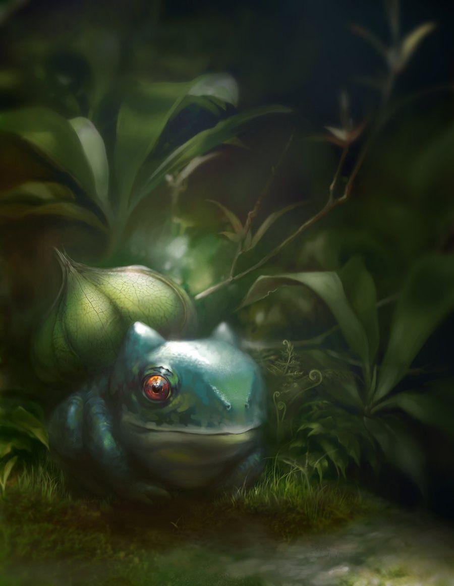 Bulbasaur by ~WeijiC on deviantART