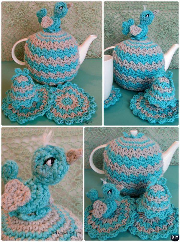 Crochet Egg Bird Tea Cosy Free Pattern Crochet Knit Tea Cozy Free