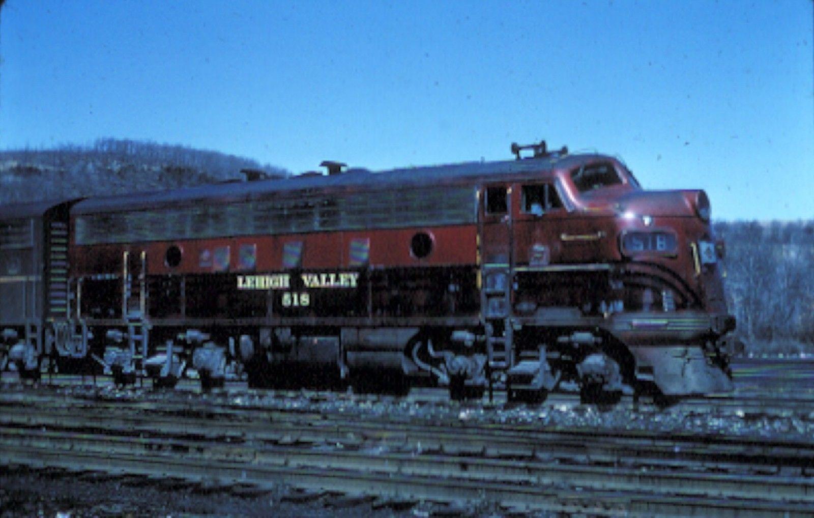 518 EMD F3A Lehigh valley, Diesel Covered wagon