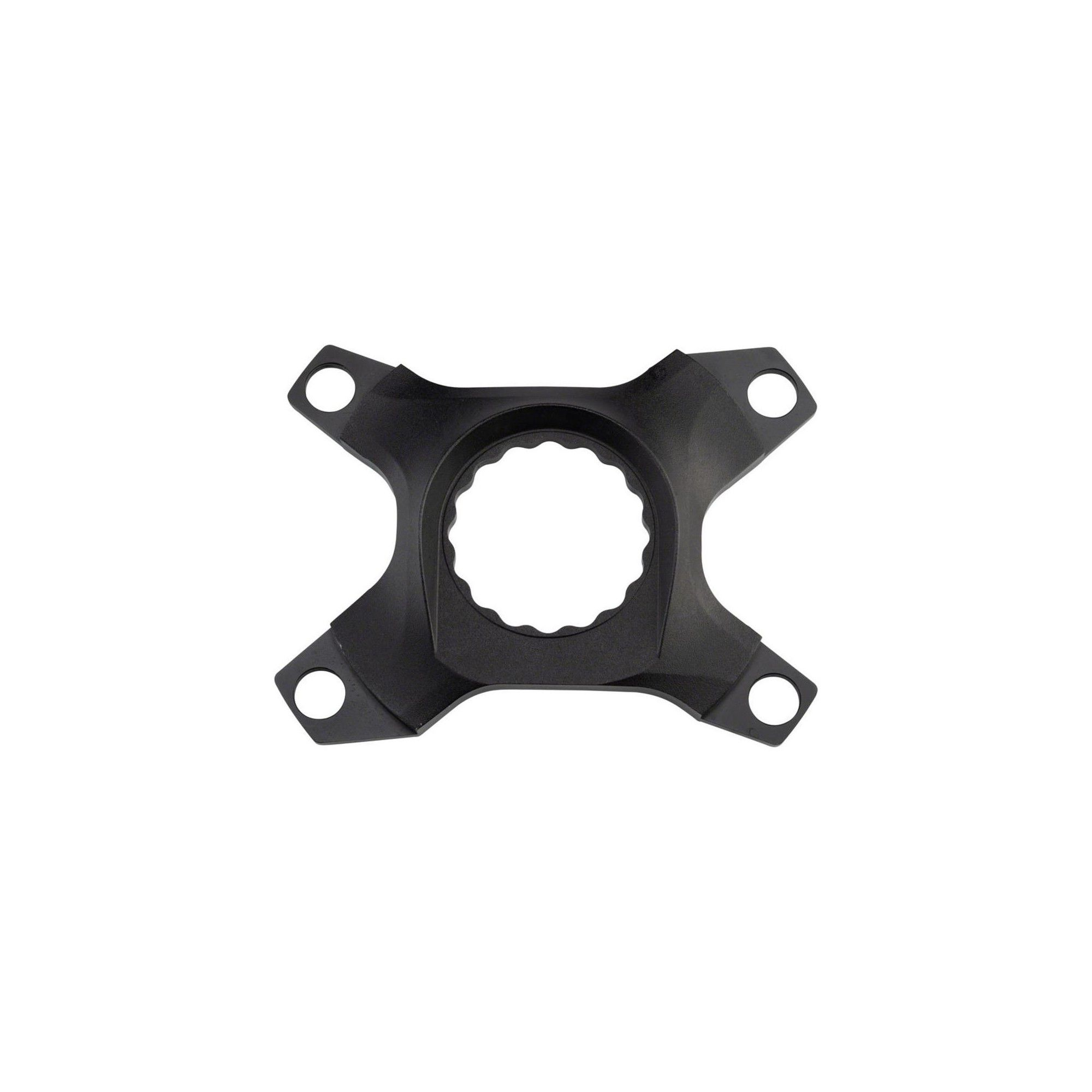 4-Bolt Dual-Chainring Black Easton Assymetric CINCH Spider