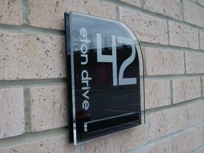 Design My House Number Gallery of unique acrylic house signs and