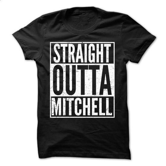 Straight Outta MITCHELL - Awesome Team Shirt ! - #hoodie outfit #off the shoulder sweatshirt. SIMILAR ITEMS => https://www.sunfrog.com/LifeStyle/Straight-Outta-MITCHELL--Awesome-Team-Shirt-.html?68278