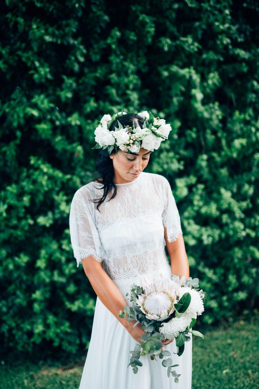 Leah & Jim's Byron View Farm Wedding Wedding dresses for