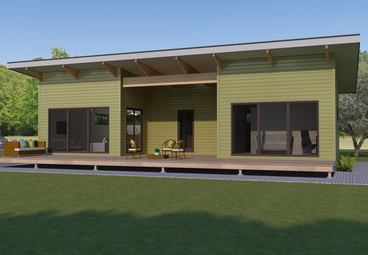 Modern Prefab Homes Portland Oregon Mod