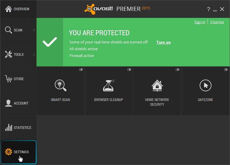 avast installer is not trusted