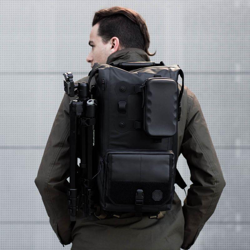c9fc875a103d TL - BLACK EMBER Black Backpack
