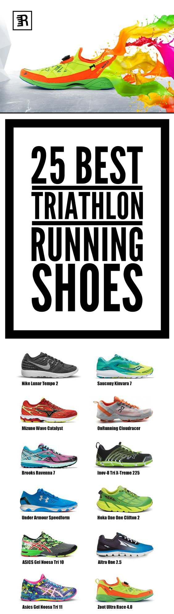 tri running shoes