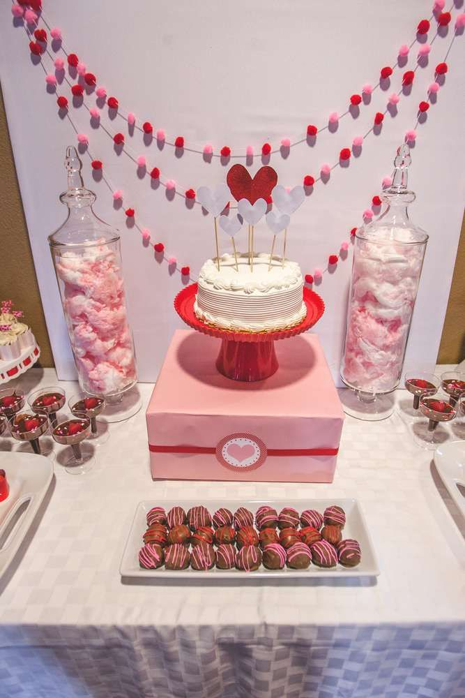 Valentines Day Baby Shower Party Ideas Valentine S Day Party Ideas