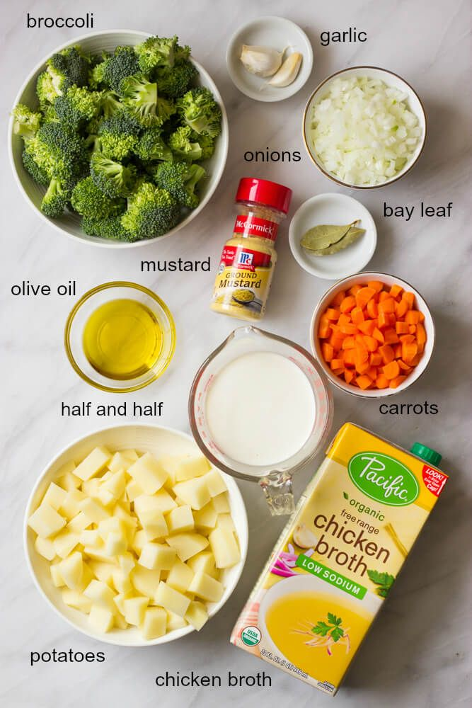 Easy Broccoli Potato Soup #potatosoup