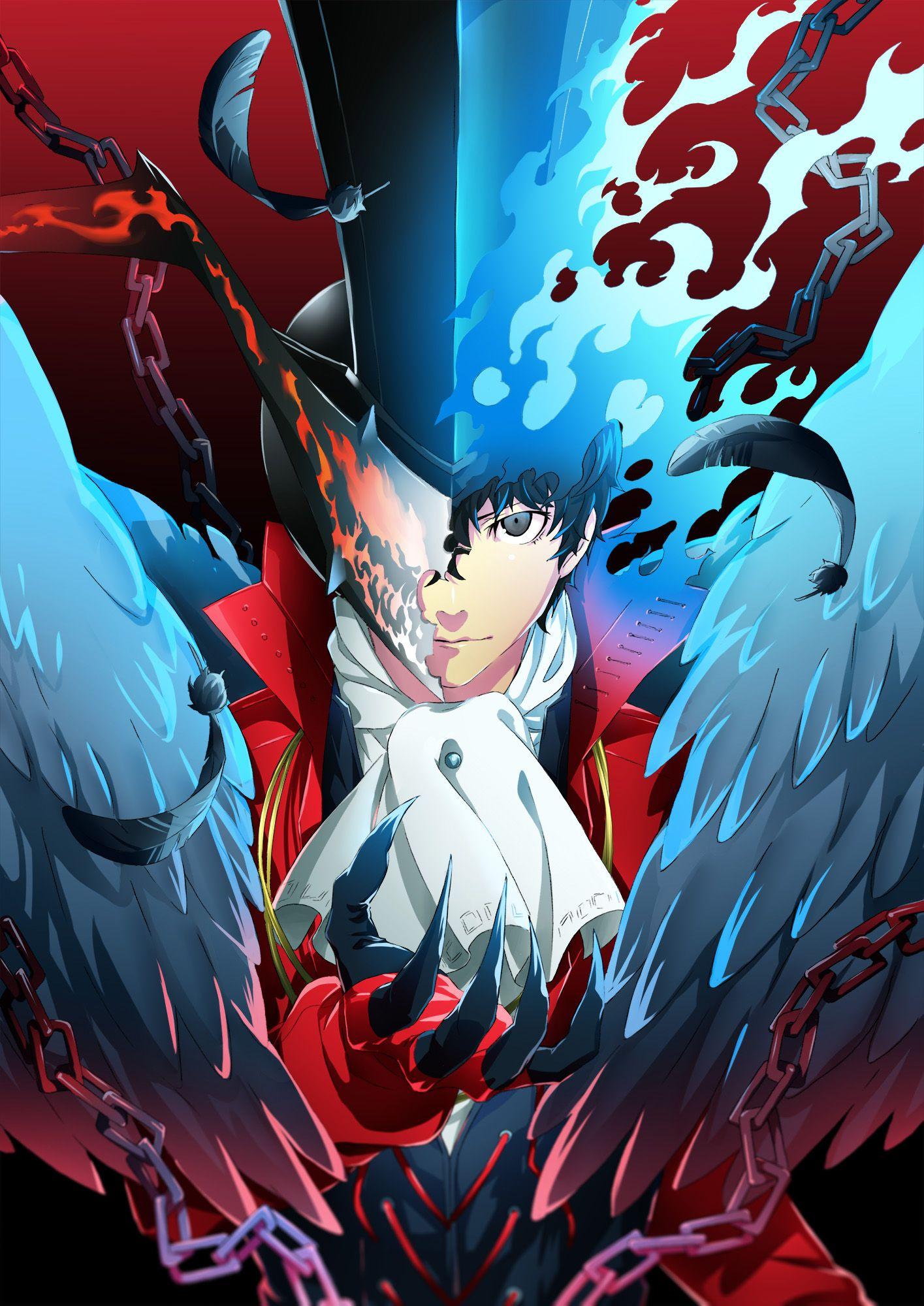 Pin by Halcyon on Ren Amamiya Persona 5 joker, Persona 5