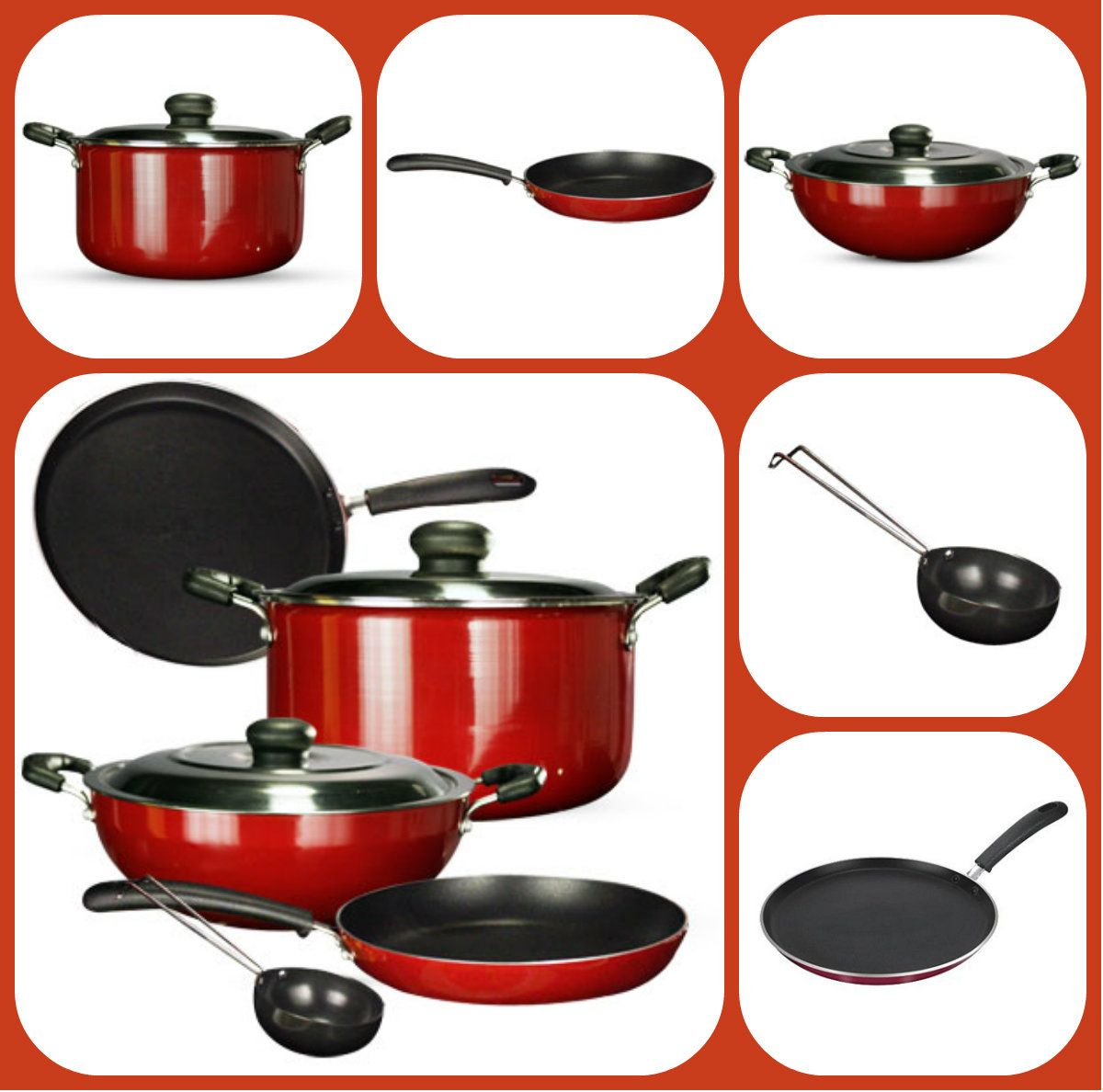Non Stick Kitchen Appliances Non Stick Cookware Set 50 Off Buy One Here Http Wwwstarcj
