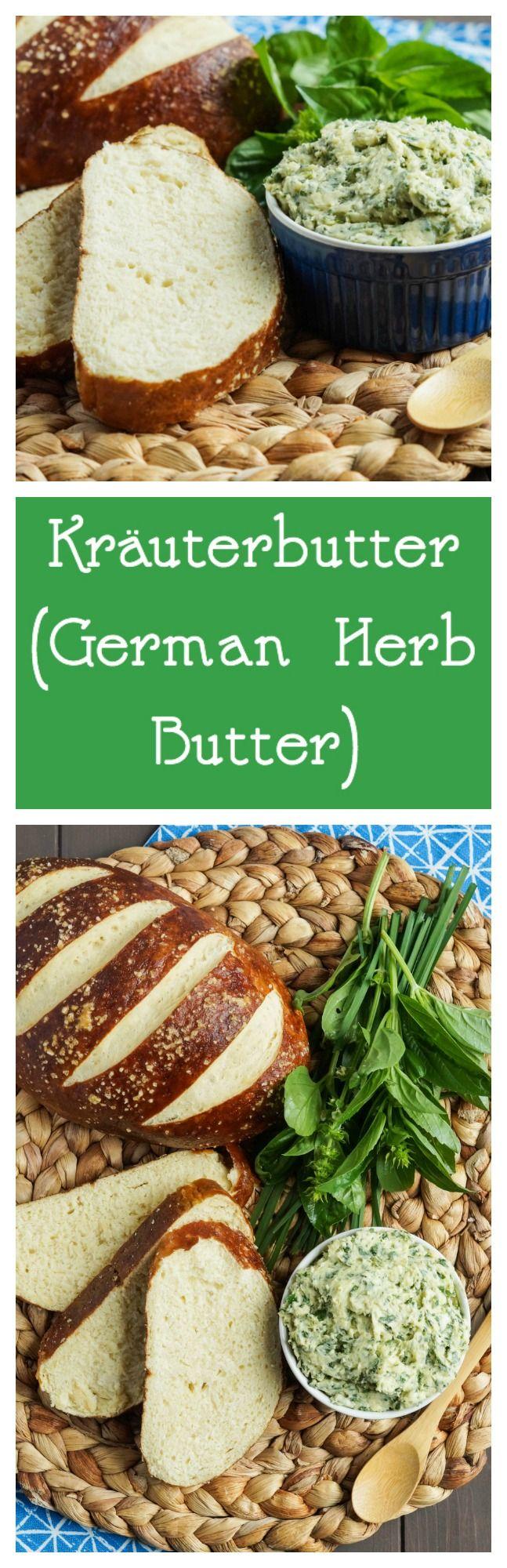 #SundaySupper Oktoberfest: Kräuterbutter (German Herb Butter) – Tara's Multicultural Table