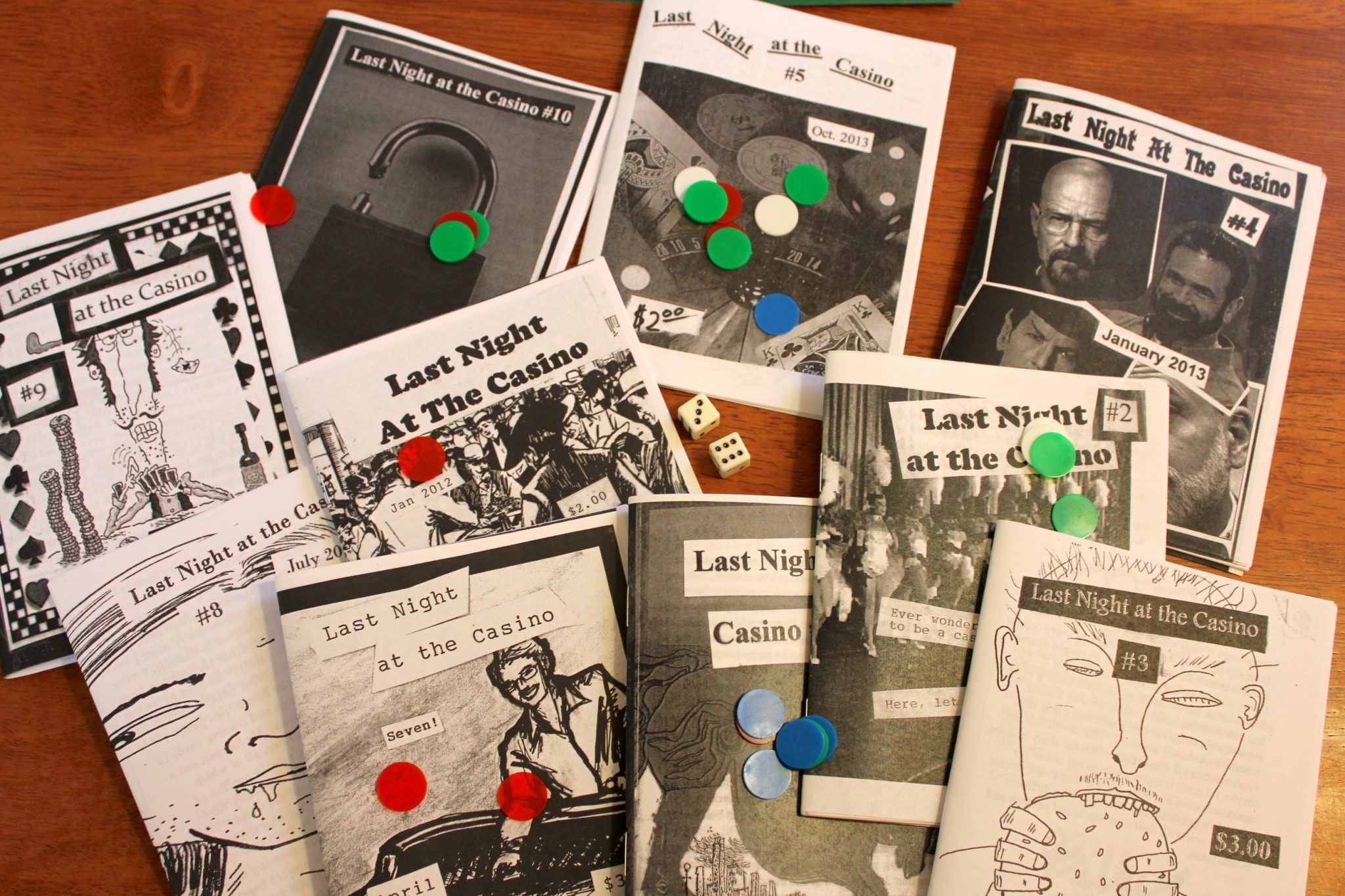 Zines 101, a super quick intro to zines and how to make