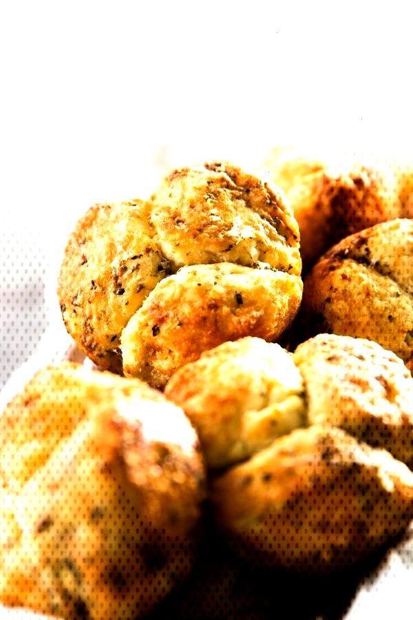 ThisHomemade Mini Garlic Parmesan Monkey Bread recipe is super simple, yet makes the most delicio