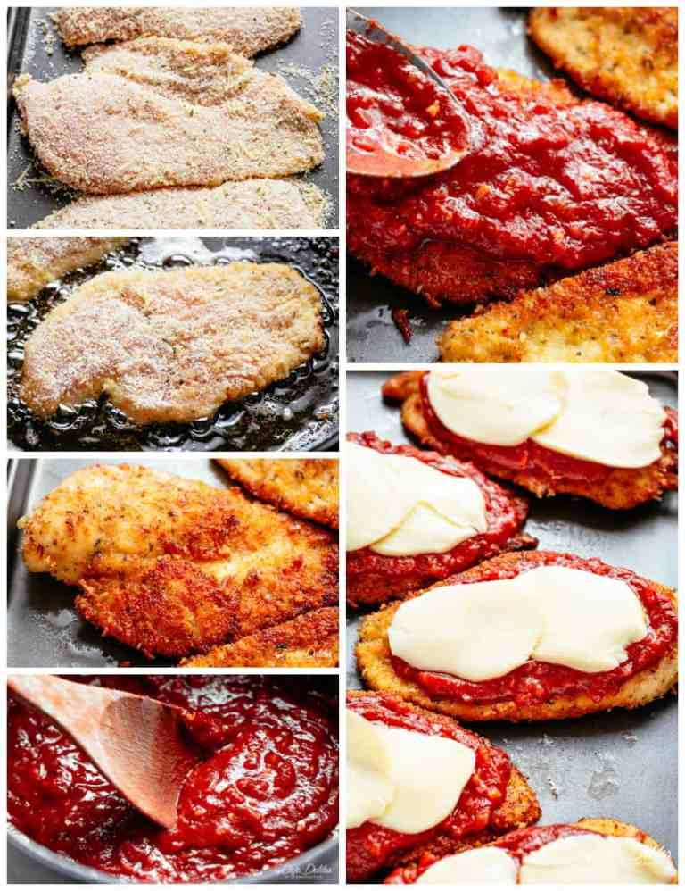 Chicken Parmesan| cafedelites.com #chickenparmesan