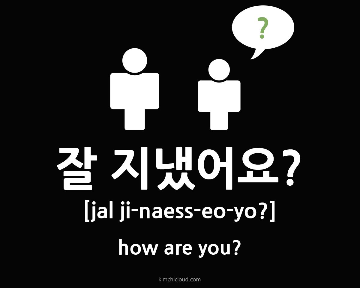 In This Lesson You Will Learn How To Say How Are You In Korean The Way You Say This Differs